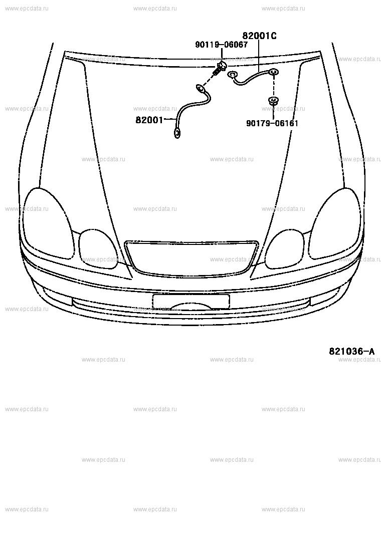 Wiring  U0026 Clamp For Toyota Aristo Jzs161
