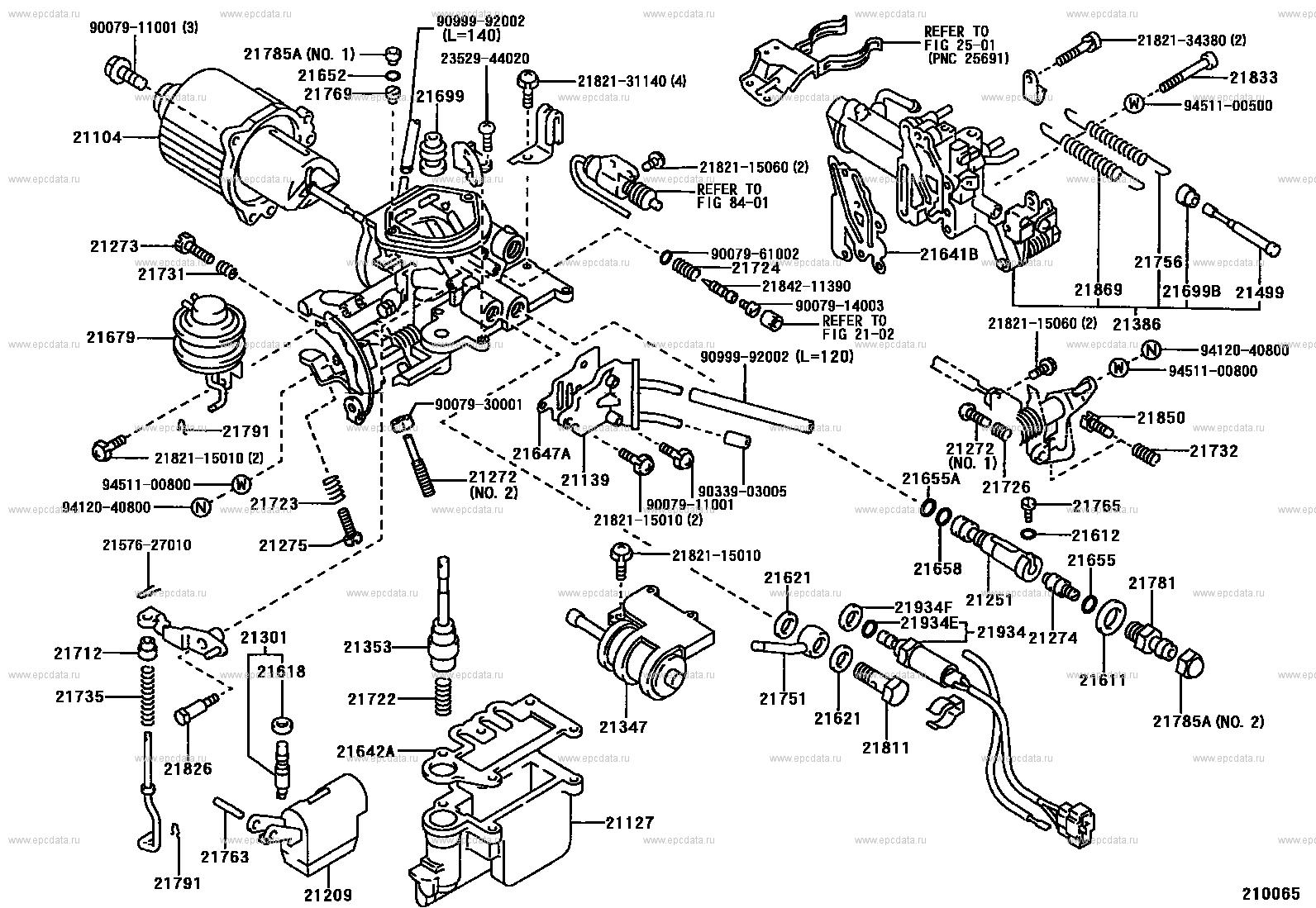 Carburetor For Toyota Corolla Ee90 Genuine Parts