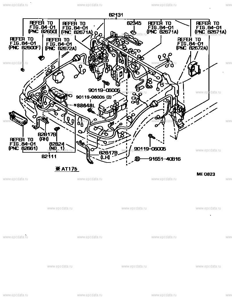 Toyota Corona St170 Wiring Diagram